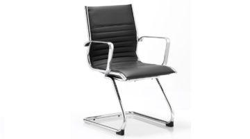 Eames Style Boardroom Chair (LB 30) Black