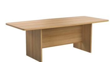 TC barrel shaped boardroom table