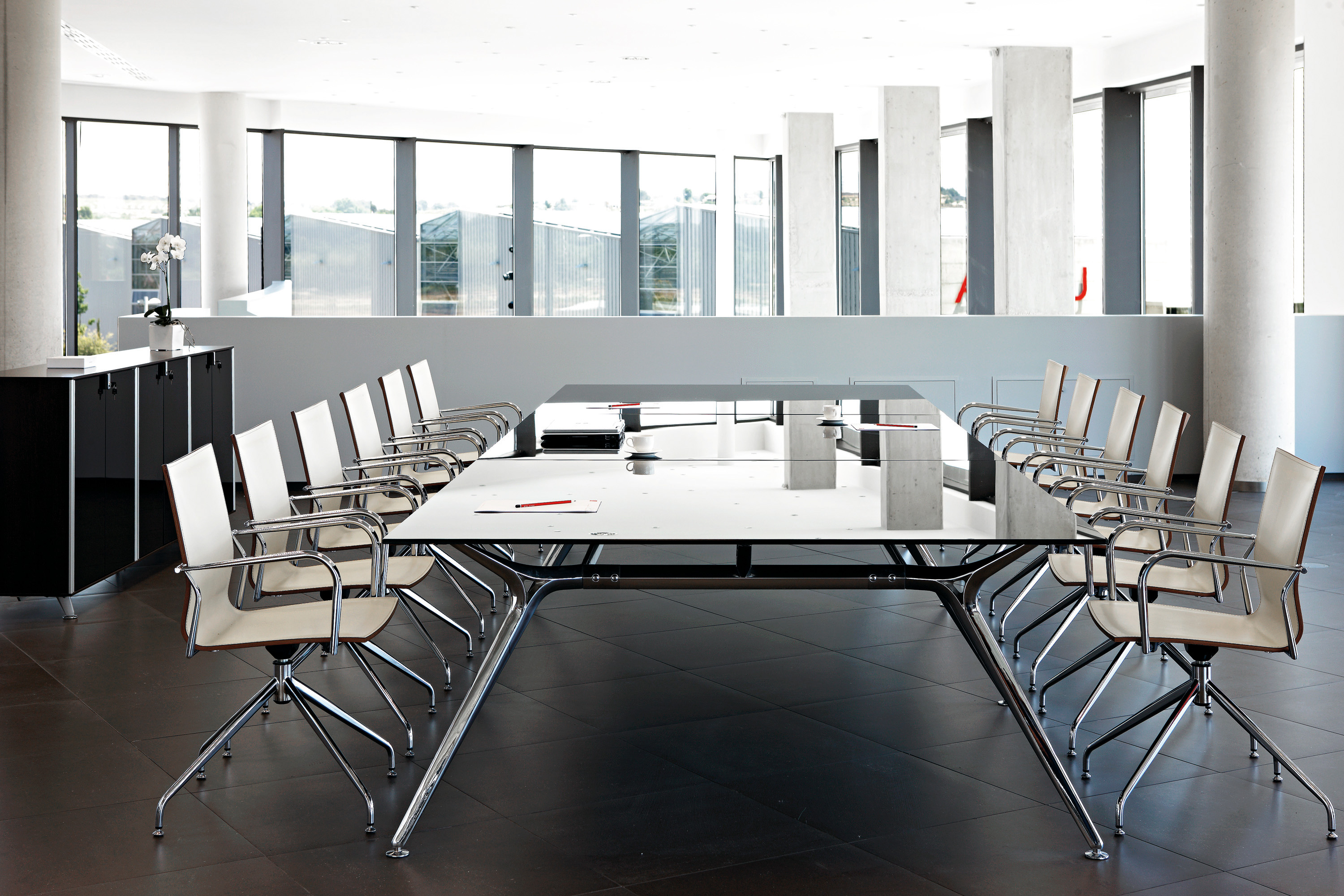 Arkitek Glass Boardroom Table X Arkitek: room and board furniture quality