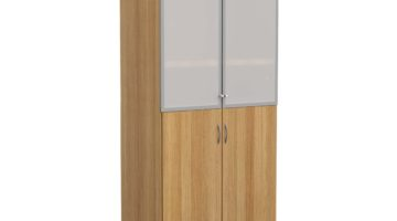 TC high cupboard with glass doors
