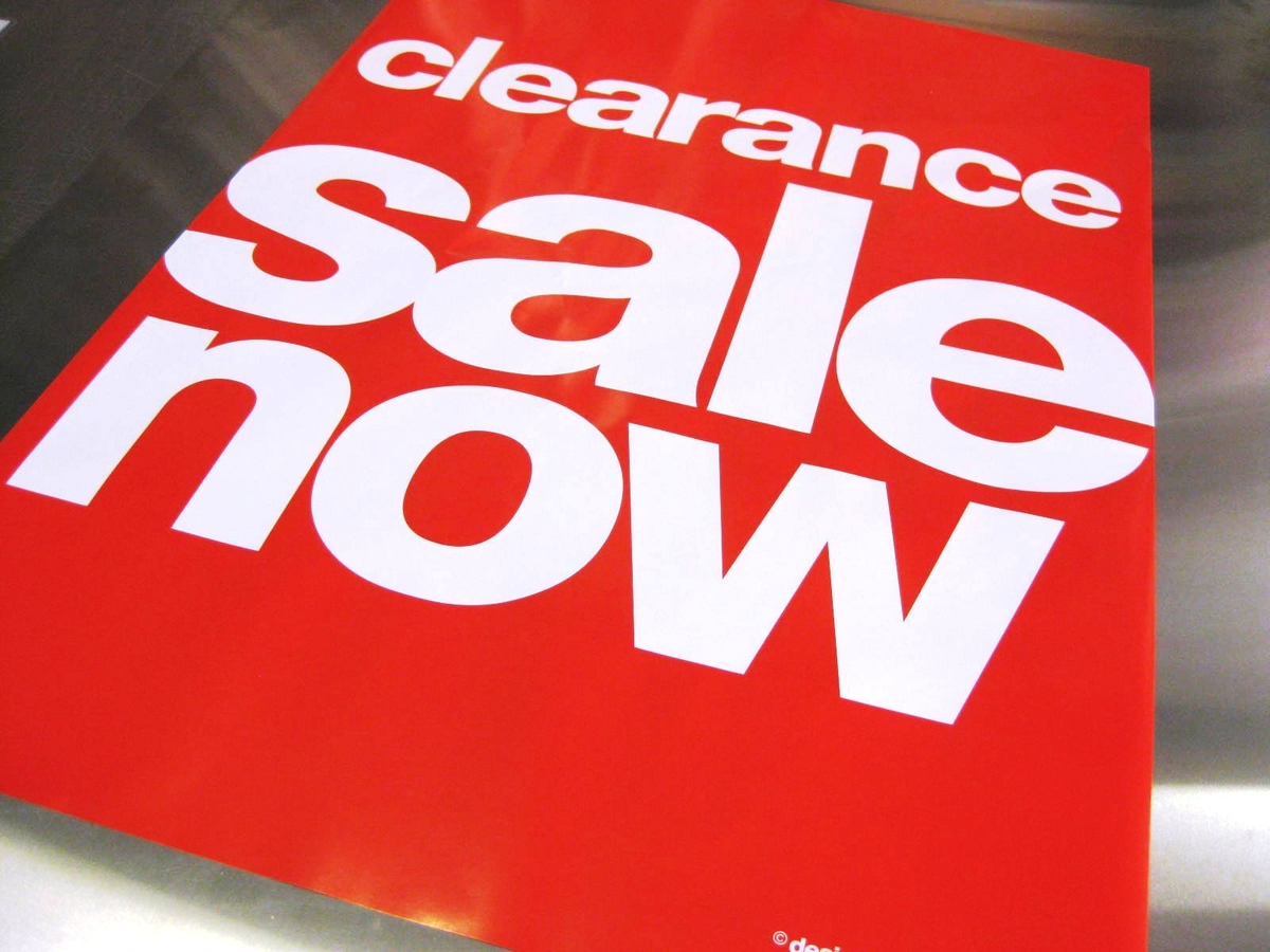 Clearance and offers