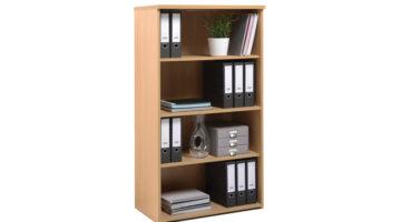 Delta 3 Shelf Bookcase 1440mm tall