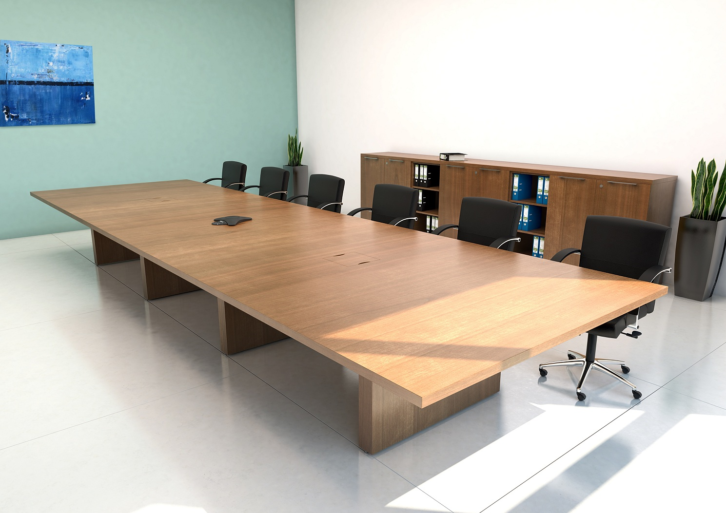 Real wood Boardroom Tables