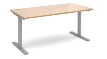 Electric Height Adjustment Desk Beech